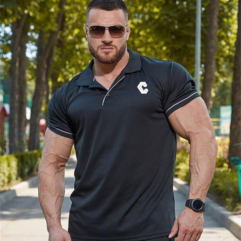 BIAOLUN 2019 Brand Quality   Polo   Shirt Men Solid Slim Fit Short Sleeve   Polos   Men Fashion Simple Men's Business Negotiation Shirt