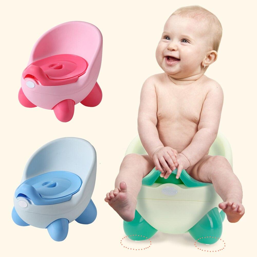 Baby Potty Toilet Seat Bowl Training Pan Portable Children's Pot Kids Bedpan Comfortable Backrest Toilet Girls Boys Cartoon Pots