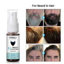 20ml Beard&Hair Spray Softer Smoother Beard Oil Men Mustache Black Gray Beard Dy