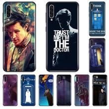 цена Tardis Box Doctor Who TARDIS Phone Case Cover For Samsung A20 A30 30s A40 A7 2018 J2 J7 prime J4 Plus S5 Note 9 10 Plus онлайн в 2017 году