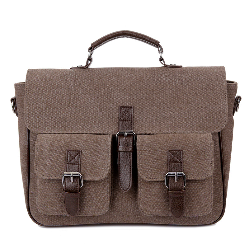 1PCS  Men's Bag New Style Briefcase In Autumn And Winter Business And Leisure One Shoulder Portable Diagonal  Backpack