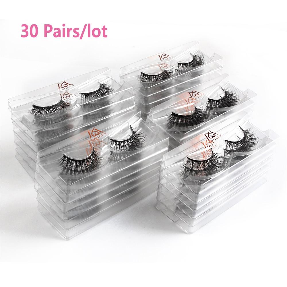 atacado 30 50 pares lote cilios vison 04