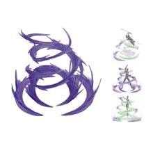Figura de acción y juguete de Whirlwind Flame, efectos especiales, decoración para EFFECT SHF, superaleación, modelo Gundam, púrpura