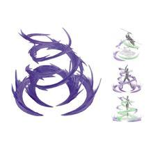 Wirbelwind Flamme Spezielle Effekte Dekoration für WIRKUNG SHF Superlegierung Gundam Modell Action & Spielzeug Figuren Lila