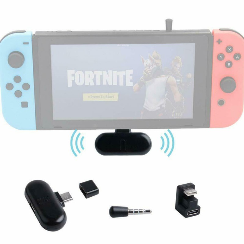 For Nintendo NS Switch Gaming Accessories GuliKit Low Latency Plug And Play Route Pro Wireless Bluetooth Audio USB Transceiver image