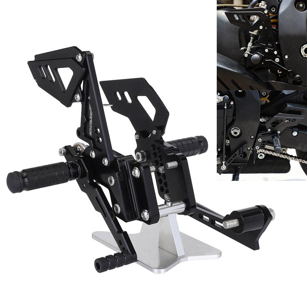 Motocicleta Apoio Para Os Pés Traseiros Pé Pegs Pedal Set Para Suzuli GSXR GSX R 600 750 GSX-R D40