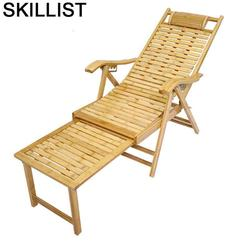 Sofa Divano meble balkonowe Sillones Moderno Para Sala Sillon rozkładane bambusowe składane łóżko Fauteuil Salon fotel rozkładany