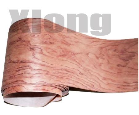 2.5Meter/pcs    Width:18cm  Thickness:0.2mm  Natural Rosewood Pattern Veneer Edge Banding