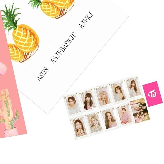 10 pièces/ensemble KPOP deux fois frapper le SIGNAL nouveau Mini huitième Album se sentir spécial LOMO cartes auto-fait papier Photocard