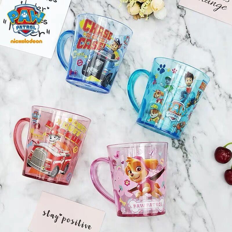 Hot Echt Poot Patrouille 300ML Cartoon Tandenborstel/drink Cups Wassen Cups Water Bekers Voor Kinderen Kids Leren Drinken Cup