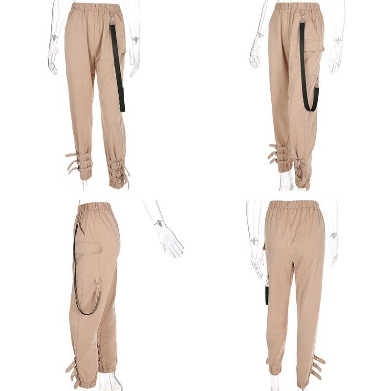 H223da1fc2b094edda1d690c1902e305bX Waatfaak Outerwear Crop Bomber Jacket Women Patch Long Sleeve Autumn Jacket Female Pocket Pin Buckle Zipper Streetwear Jacket