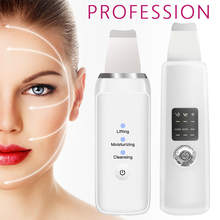 Ultrasone Gezicht Reinigingsapparaat Huid Scrubber Facial Whitening Lifting Verminderen Rimpels Vlekken Pore Cleaner Spatel Sets(China)