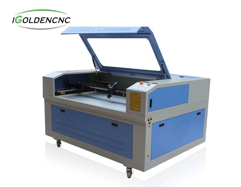 AUTO fütterung CNC doppel schneiden köpfe laser schneiden gravur maschine von iGolden