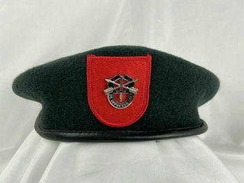 Armia usa 7 Siły specjalne grupa zielony beret siły specjalne Sf insygnia kapelusz armyshop2008 tanie i dobre opinie BONJEAN