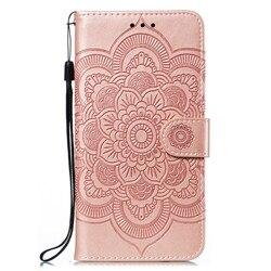 На Алиэкспресс купить чехол для смартфона mandala embossing cover for samsung galaxy a10s/a20s/m30s/a70s/a90 5g case flip stand pu leather wallet mobile phone bags