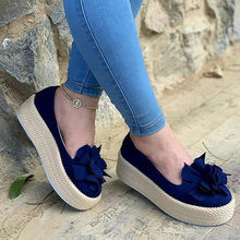 2019 New Women Sandals Summer Woman Bow Casual Shoes platform sandals Bowknot Ladies Pink Slipper#G9(China)