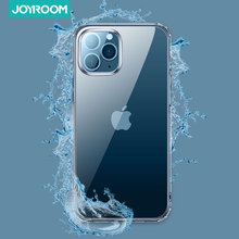 Joyroom Phone Case For iPhone 12 Pro 12 Mini Transparent Back Case For iPhone 12 Pro Max Soft TPU Case Cover Coque With Screen
