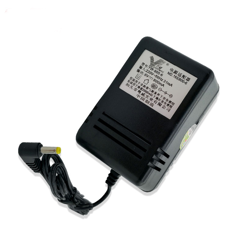 AC <font><b>220V</b></font>/50Hz DC <font><b>6V</b></font> 800MA Power Charger <font><b>Adapter</b></font> US Plug For SONY ICF-SW7600GR Radio receiver image