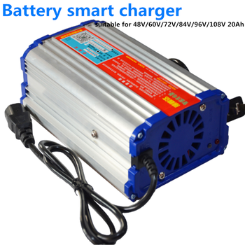 GTK alta calidad 48V/60V/72V/84V/96V/108V 20Ah cargador rápido inteligente de batería para bicicleta eléctrica e-scooter y motocicletas