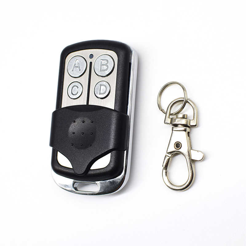 433MHz clone remote control for 433.92mhz Garage door gate remote control rolling fixed code handheld transmitter