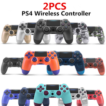 2PCS PS4 Controller Wireless Bluetooth Dual Vibration Gamepad Joystick For PS3 PC Desktop Computer Laptop iPad Mobile Phone