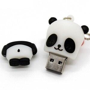 Image 3 - TEXT ME cartoon animal USB Flash Drive mini lovely Panda pen drive special gift cartoon