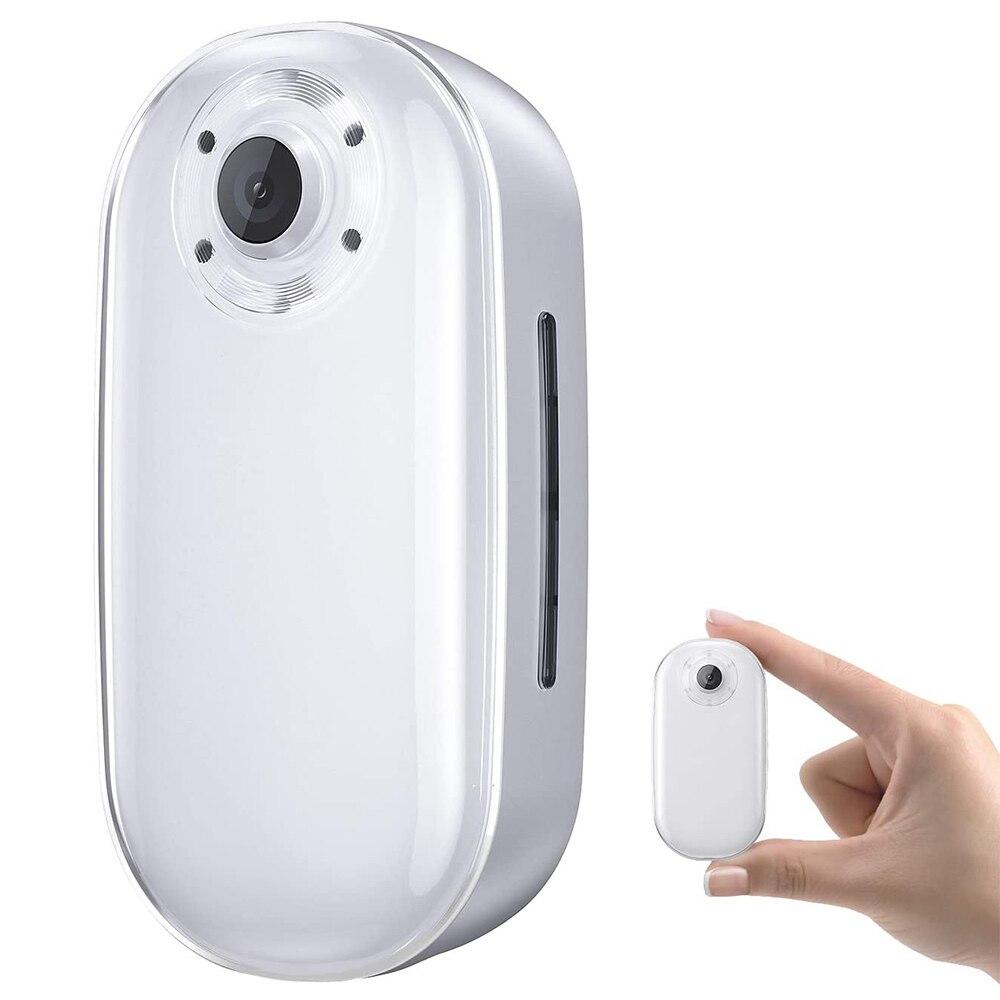 AKASO-Llavero de cámara de acción 4K30FPS 20MP con EIS 2,0, 60min, grabación de vídeo, Mini cámara Vlogging de movimiento lento, manos libres