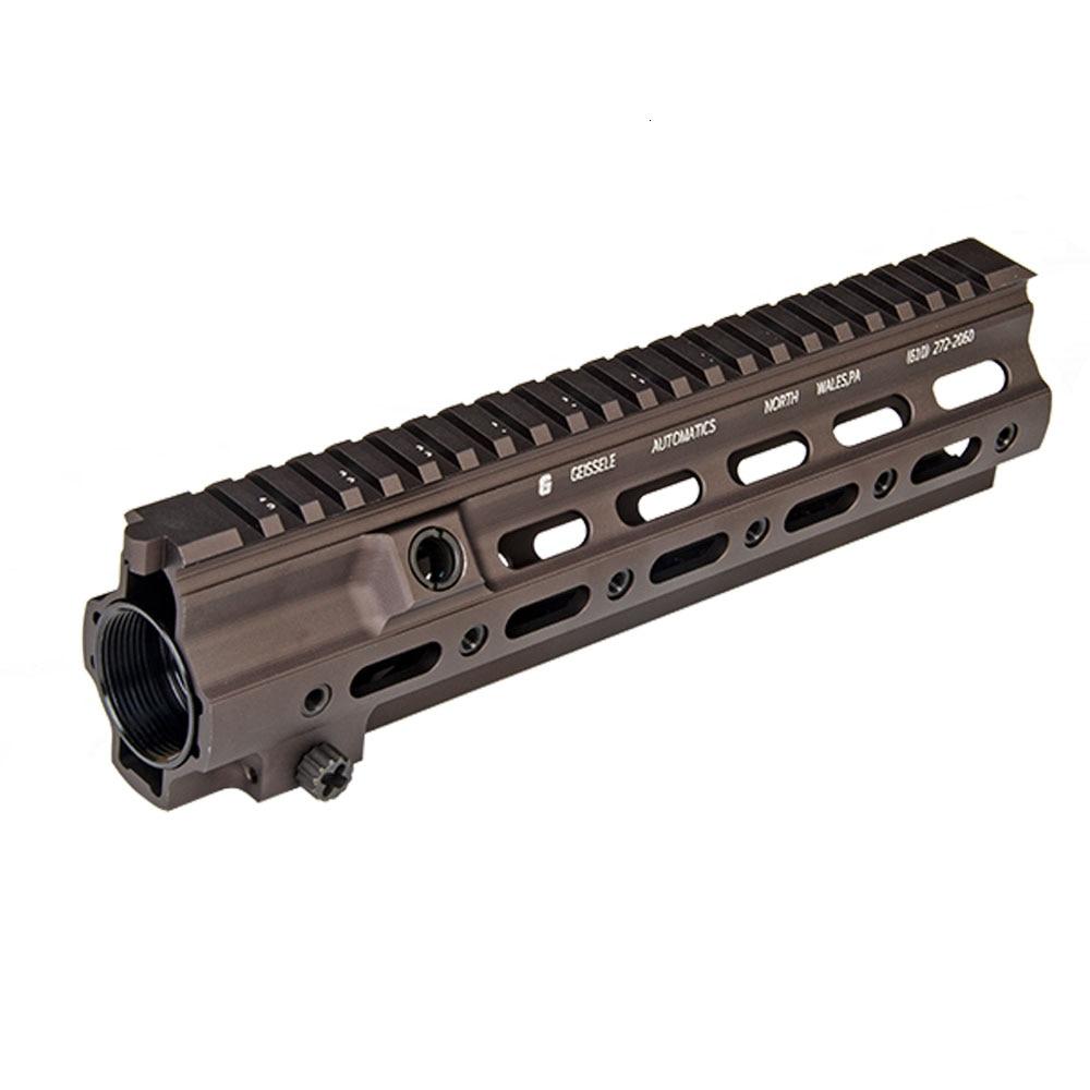 Style G de garde-corps de Rail de SMR de Blaster de boule de Gel 10.5 pouces pour Hk416 support libre mince de bâti d'airsoft Picatinny de flotteur convenable M4 M16 AEG - 3