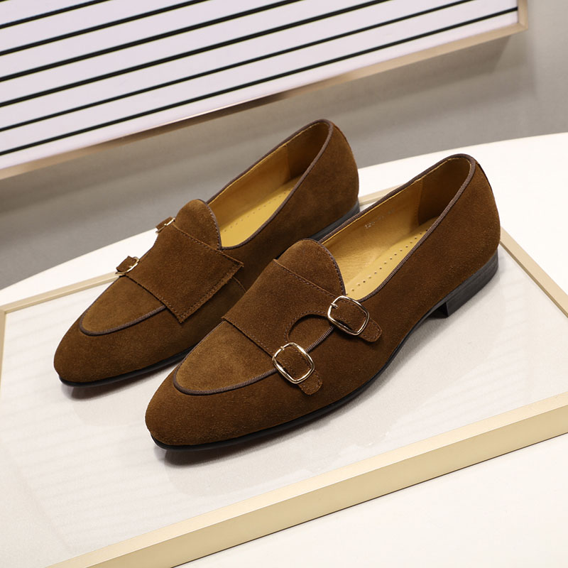 Men's casual suede loafers 3