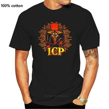 2 Vtg Insane Clown Posse T Shirts Rare Icp Juggalo Ringmaster Hatchetman Hip Hop image