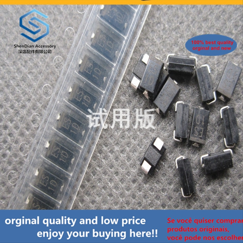 50pcs 100% Orginal New Best Quality ES1D SF14 SMD SMA DO-214AC Ultra Fast Recovery Diode 1A / 200V
