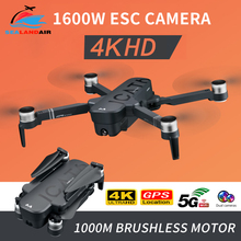 RC Drone 4K with ESC Dual HD Camera 5G WIFI Video FPV Optical Flow Helicopter Brushless Foldable GPS Follow Me Quadcopter