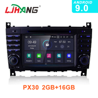 LJHANG Android 9.0 Car DVD Multimedia Player For Mercedes Benz W203 CLK200 CLK22 C180 GPS Navi WIFI 2 Din Car Radio Stereo Audio