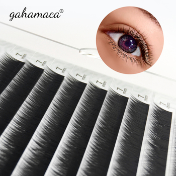 GAHAMACA Bottom Eyelash Extensions Lower  Under Lashes 5mm 6mm 7mm Short Eyelash Eyebrow Extensions Makeup Tool 1
