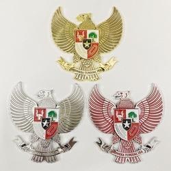 Indonesia condor logo modified metal insignia stereo car headboard decoration logo