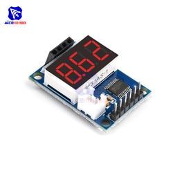 Diymore ультразвуковое измерение расстояния Управление доска дальномер 3 Бит светодиодный цифровой Дисплей HC-SR04 8-битный микроконтроллер для ...