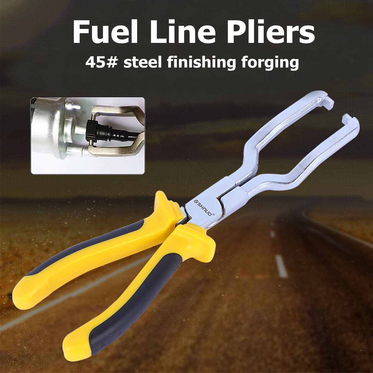 Fuel Line Petrol Clip Pliers Hose Release Disconnect Removal Pipe Repair Tool