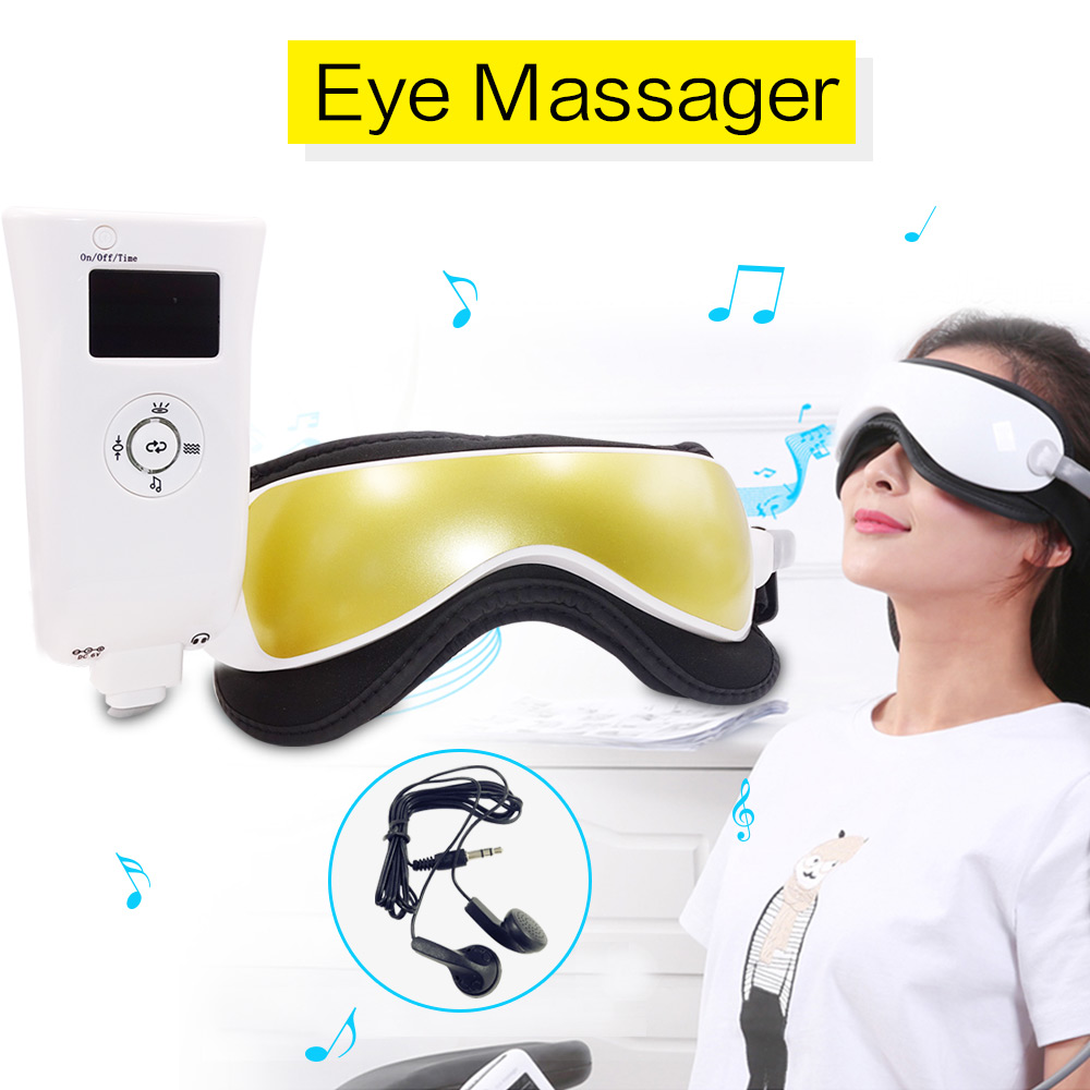 Dropshipping Electric Eye Massager Mask Migraine Eye Vision Improvement Forehead Eye Care Glasses Massager Health Care Tools 2