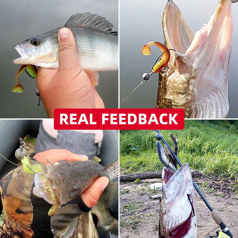 Awaruna Fishing Lures 8cm 9.5cm 13cm Artificial Baits Wobblers Soft Lures Shad