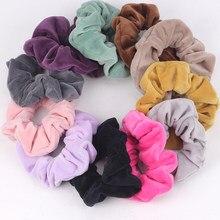 Бархатные резинки для волос vsco, 1 шт., аксессуары для волос, эластичные резинки для волос, тиара, бесплатная доставка