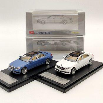 Master 1/64 dla Maybach s-class S680 Model odlewu kolekcja samochodów zabawki prezenty biały/niebieski/czarny
