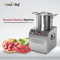 Itop 4l almôndega batendo máquina multifunções profissional vegetal cortar alho carne chili cortador moedor 1400r por min