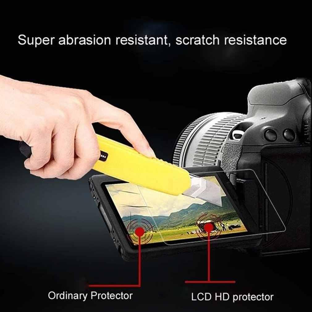 شاشة الكاميرا طبقة رقيقة واقية حماية خفف واقٍ زجاجي لباناسونيك لوميكس DMC G85/G80/G81 DMC-G85 DMC-G80 DMC-G81