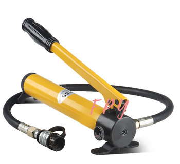 High pressure hydraulic hand pump CP-180 manual hydraulic pressure pump For Connecting Crimping Head high pressure hydraulic manual pump portable hydraulic pump 700 kg cm2 900cc hydraulic pump