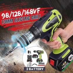 28V 250W akumulatorowa wkrętarka akumulatorowa wiertarko wkrętarka akumulatorowa o dużej pojemności zestaw elektronarzędzi|Wiertarki elektryczne|   -