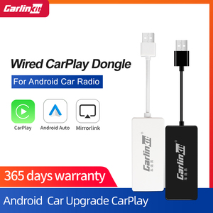 Carlinkit USB CarPlay Dongle/Android Auto for Android Car Android Multimedia Player iPhone Androidphone Wired Wireless Autokit