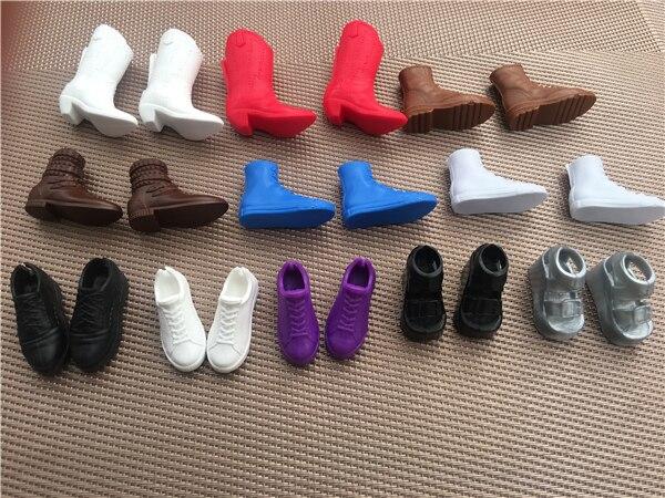Кукольная обувь Blythy, ботинки, сандалии, детали для кукол «сделай сам», черный, серебристый, красный цвет, кукольные украшения, оригинальная о...