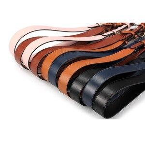 Image 3 - Genuine Leather Wide Shoulder Strap Brand Luxury Bag Strap Solid Color Adjustable Length 100cm 120cm  Women Bag Accessories