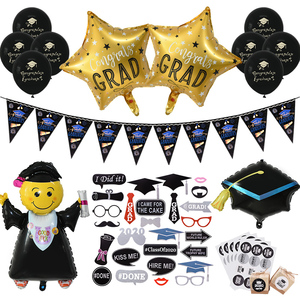 Graduation Party Decorations Favors Graduation Photo Booth Props Graduation Balloons Banner Cupcake Toppers Class Of 2020