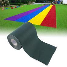 15X1000 15x500 см, садовая самоклеящаяся лента, зеленая лента, синтетический газон, трава, искусственный газон, закатка, украшение для стыковки травы